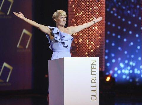 Sigrid Bonde Tusvik ledet Gullruten for andre år på rad. – Jeg elsker Gullruten og kjoler, sa programlederen til BA.