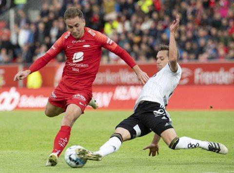 28. juli er det duket for Brann mot Rosenborg på Stadion.