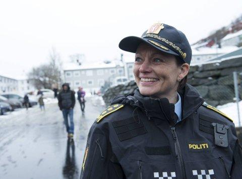 Politiinspektør Monica Mørk arbeider med å gjenopprette tilliten til politiet.