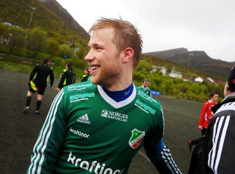 Målfarlige Martin Arne Reinholdtsen og Morild skal møte Medkila, som rykket ned fra 3. divisjon i fjor, i serieåpningen i 4. divisjon. (Foto: Per-Einar Johannessen)