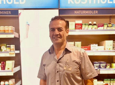 Starter apotek på Randaberg: Farmasøyt Goran Jafr.