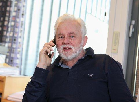 NYE TILFELLE: Smittevernoverlege Jan Helge Dale har fått fleire koronatilfelle å hanskast med siste døgnet; denne gongen i Bremanger.