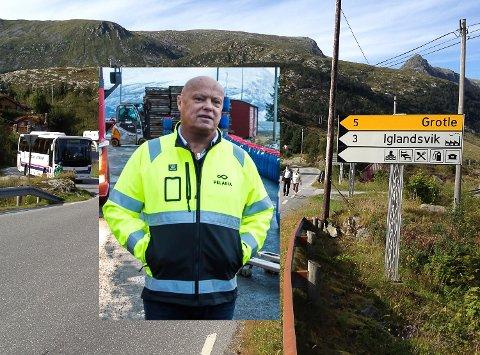 LOKALPOLITIKAR: Per Røys (H) tek til orde for tettare samarbeid mellom reiselivsmagneten Kalvåg og småskalareiselivet i ytre Bremanger. Felles sommarrute for besøkande burde prøvast, meiner han.