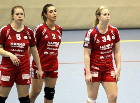 SKUFFET: Anett Andersen, Africa Sempere Herrera og Anette Helene Hansen var skuffet.