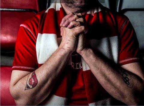 HÅP: Det er nok mange som ber til høyere makter om en FFK-seier i aften.