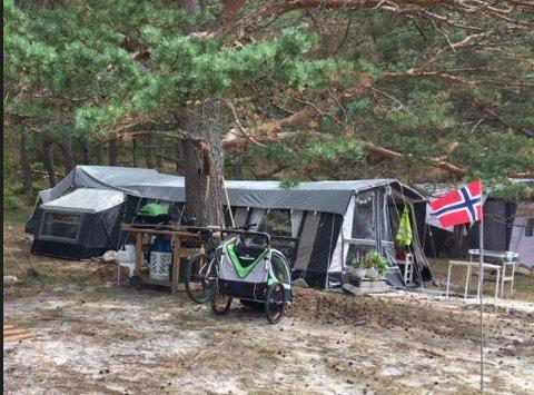 Ordfører Mona Vauger mener at flere av teltene på Storesand har blitt for digre. Hun vil også ha slutt på at noen kan ligge på plassen hele sesongen igjennom.