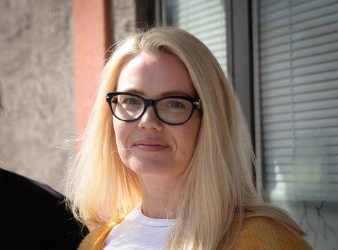 AP-LEDER: Tina Denstad, gruppeleder for Narvik Ap, maner til edruelighet i debatten om Elvedalen.