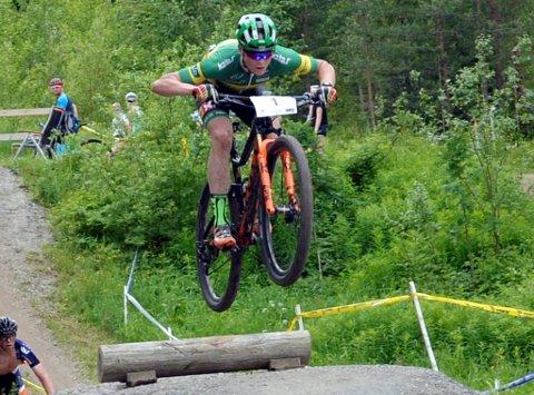 Petter Fagerhaug, Lillehammer CK, sikret seg sitt andre NM-gull i terreng-NM.