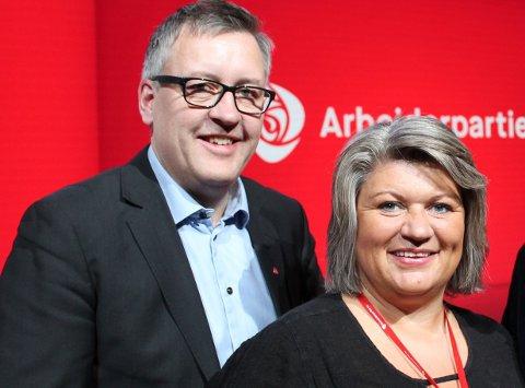 UTEN KONKLUSJON: Nestleder Rune Støstad og leder Anita Ihle Steen i Innlandet Ap vil ikke at partiet skal mene noe om valg av supplerende sykehus.