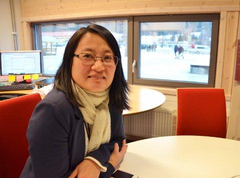 HÅP: Vi håper rektor Soon Elisabeth Øhrling ved Hadeland videregående skole får det slik hun ønsker.