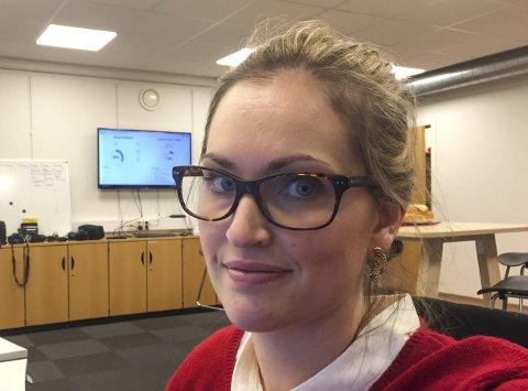 Journalist Kine Therese Vik-Erstad