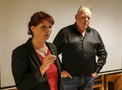 OFFENSIVE:   – Vi skal bruke de neste fire årene. Valgkanmpen starter i morgen, sa Kirsti Brække Myrli og partileder Per Kristian Dahl.