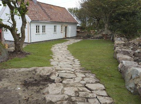 Vikrahuset: Som det framstår i dag.  Foto: Jan Kåre Ness