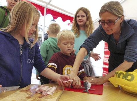 ENKELT OG GODT: Margit Vea vil også i år ha sjømatkurs for barn.  Arkivfoto: Ruth Sunnanå Sveistrup