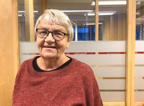 FRYKTER FRAFLYTTING: Fanny Kristiansen (81) vil ikke at Vestre Jakobselv skal bli som Skallelv.