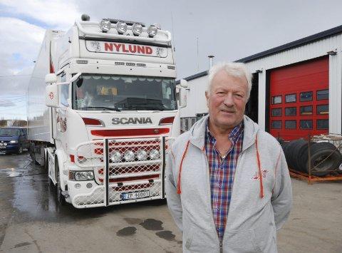KOSTER DYRT: Selskapet til Audun Nylund har store ekstrautgifter på grunn av elendig veistandard. Han synes det er merkelig at ikke strekningen Tanabru-Austertana har høyere prioritert.