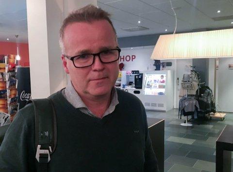 VITNET: Tidligere politimann Jan Robert Edvardsen ble engasjert som utreder for Fremtind Forsikring. Onsdag vitnet han i Hålogaland lagmannsrett i erstatningssak etter at Leir Arvid Ernstsen (54) i 2013 ble hardt skadd i en scooterulykke.