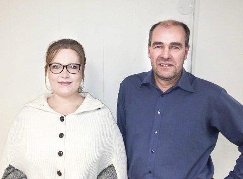 STILLER SEG BAK ULVEFORLIKET: Line Marie Johansen og Hans Petter Kongtorp i Aurskog-Høland KrF.