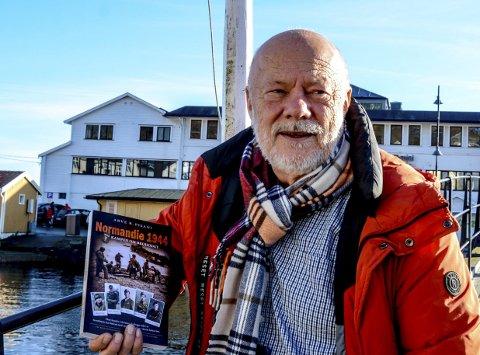 Arve Pisani med boken «Kampen om brohodet».