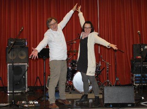 Desse to har stor tru på det nye prosjektet «Modige Talent»: einingsleiar Augst Magnusson ved Kvinnherad Kultursenter og leiar for prosjektet, Karianne Solheim. (Pressefoto).