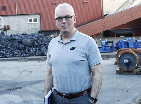 HAR SLUTTET: Per Øyvind Sævartveit har vært administrerande direktør ved TTI siden 2017 og lang fartstid i industrien. Denne uka sluttet han på dagen etter å ha blitt enig med eierne i Eramet om å avslutte arbeidsforholdet.