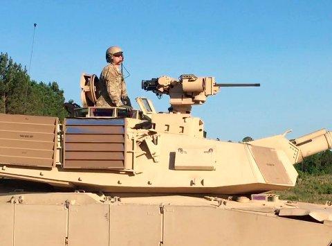 PROTECTOR RWS: Er utviklet for små- og mellomkaliberstørrelse våpen og kan installeres på ulike plattformer.