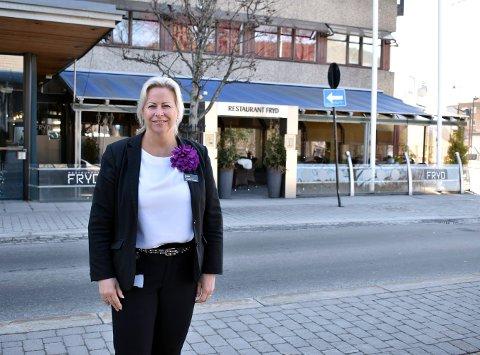 Oppover: - Nettsteder som Tripadvisor er uhyre viktig for oss, sier Janne Johansen, direktør på Quality Hotel Grand i Kongsberg.