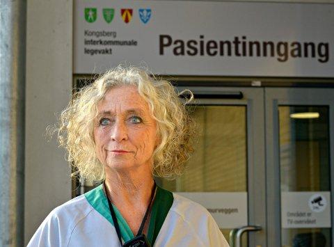Susanne Kjær er legevaktsjef i Kongsberg.