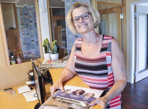 Konsert: Patricia Flakstad inviterer første lørdag i august til konsert igjen i Lofotgalleri 1599 på Limstrand. Foto: Lise Fagerbakk