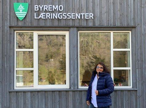 VIL KJEMPE: Ila D. Patel har slått fast at audnedølene  er klare til å kjempe for Byremom læringssenter.