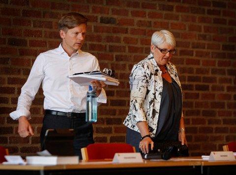 AVSTÅR: Tage Pettersen søkte om etterlønn, noe rådmann Bente Hedum i tråd med det gjeldende reglementet godkjente.