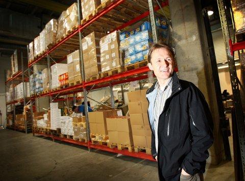 STOR PÅGANG: Administrerende direktør Trond B. Hansen i Drytech har pågang fra hele verden.