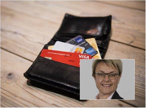 PÅVIRKER DEG: Koronaviruset kan påvirke lommeboka di. Sparer du i fond, blir du anbefalt å ha is magen av banksjef for region Sør-Østerdal i Sparebank 1 Østlandet, Anja Holmøy Aamold.