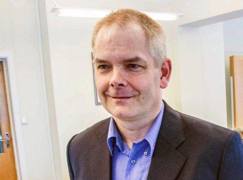 STORE AMBISJONER: – Målet er å gjøre BedreLarvik til et av de tre største partiene i kommunen, sier Erik A. Sørensen.