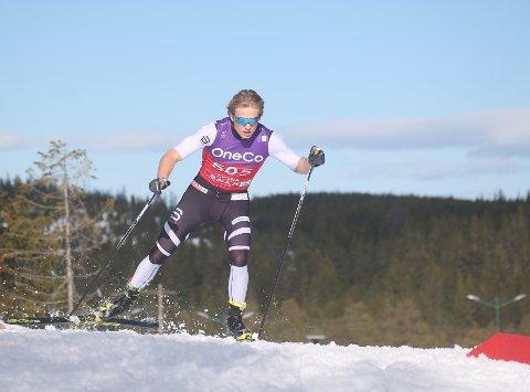 FOR EN DAG: Med kraft og kløkt presterte Vebjørn Hegdal bedre enn noensinne som skiløper.