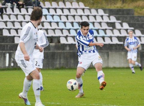 Utvist fra Norge: Moelven-spiller Abbas Zadeh blir ikke å finne i Idrettsparken kommende sesong. For to uker siden måtte han forlate Norge. Foto: Arkiv