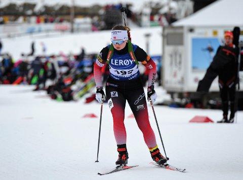 KOM STERKT TILBAKE: Linnea Wolden Alme har hatt en bratt og fin utviklingskurve etter at hun begynte på skigymnaset i Meråker.