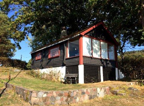 Familien har hatt hytta helt siden 1949.