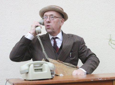 Lars Vik er klar for nye knall og fall som Fritjof Fomlesen lørdag.
