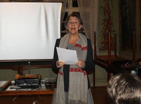 Professor i historie, Ellen Schrumpf, fortalte historien om barnearbeid i Norge og satte historien opp mot kampen for barns rettigheter som Johan Castberg kjempet for.