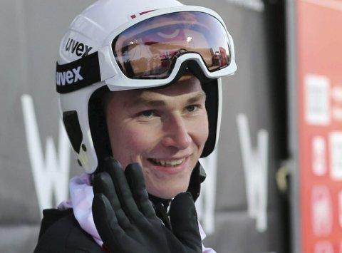 Stålkams Robin Pedersen skal i aksjon i de to siste rennene i Summer Grand Prix i hopp i Hinzenbach og Klingenthal. Foto: Geir Olsen
