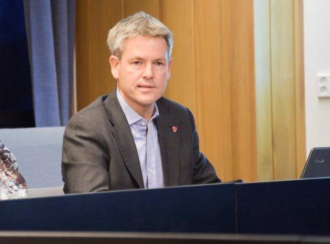 KOMMUNALSJEF: Sverre Rudjord.