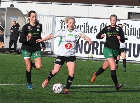 I SCORINGSFORM: Silje Nyhagen var frisk på topp for HBK.