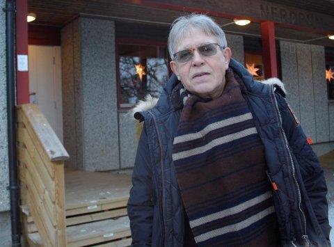 UENIG: Frps Arild Mossing er ikke fornøyd med at kommunen unnlater å opplyse om hvor smitten er størst.