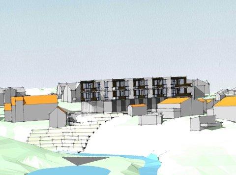 JOKER FILTVET: Dette kan bli et nytt og lukrativt sted å bo.