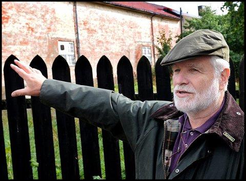 HISTORIE: Carl-Einar Kure er nominert for sitt arbeide i Sarpsborg Historielag.