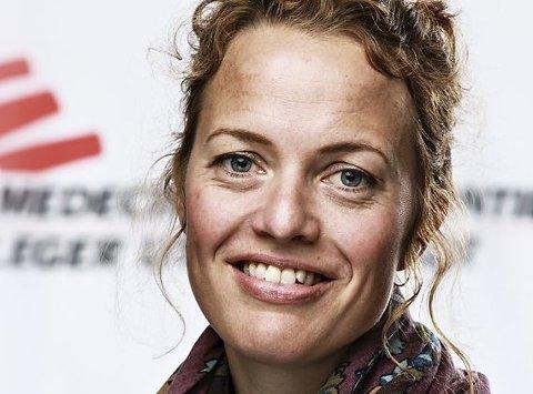 Karine Nordstrand, lege og president i Leger Uten Grenser.