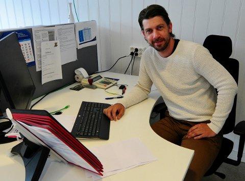 SOMMEREN: Christopher Henriksen skal jobbe i Sparta fram til sommeren. 2. august starter han i ny jobb.