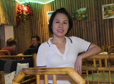 Inspirert: Linh Tran (36) er født og oppvokst i Vietnam, som har en lang håndverkstradisjon med å fremstille bambus-produkter.