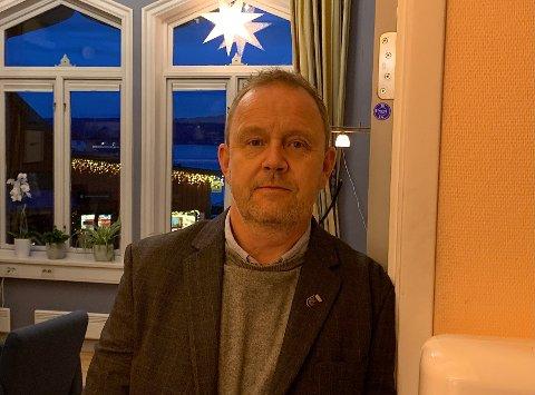 Ordfører Grunde Wegar Knudsen.